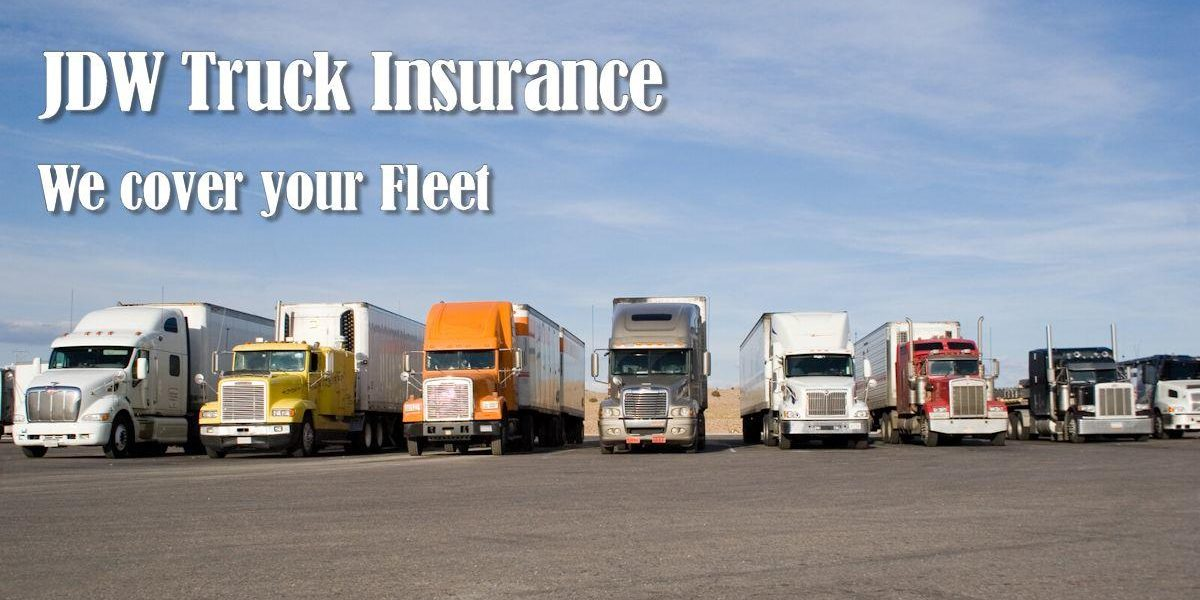 Commercial Fleet Insurance Atlanta Georgia Jdw Truck Insurance