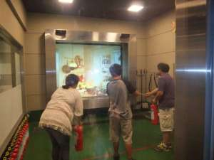 Disaster Training: An earthquake, a typhoon and a fire all in one day…  KOUNOSU