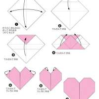 6 easy activities with Valentine's Origami hearts for preschoolers