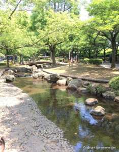 Ageo City with toddlers, outdoor locations
