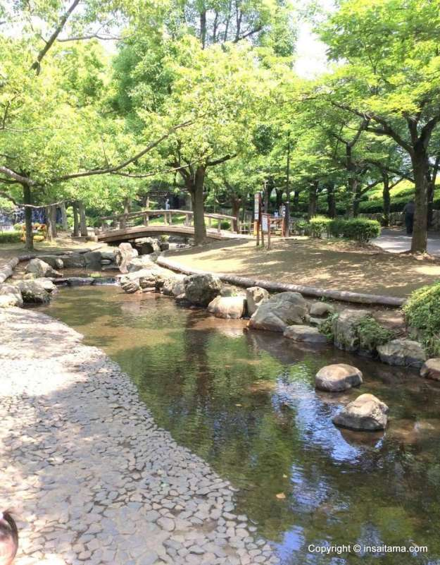 Saitama Paddling pools and wading streams