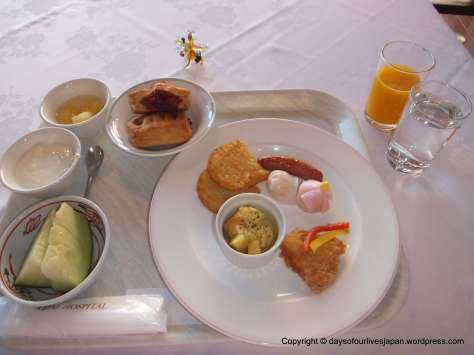 A mix of Japanese, Europeanand Irish breakfasts