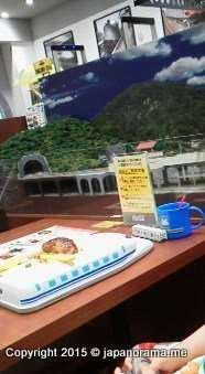 Steam locomotive cafe lalaport Fujimi