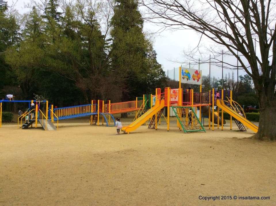 The playground in Hidaka Sougou Park