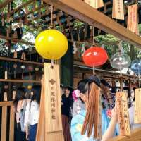 Wind Chimes event at Kawagoe Hikawa Shrine 2020