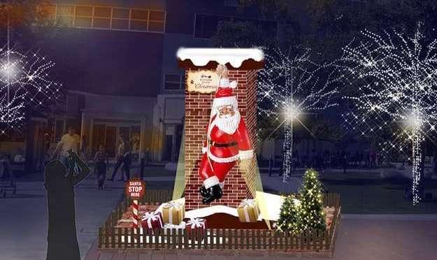 Santa's Grotto Toyosu Seaside Christmas