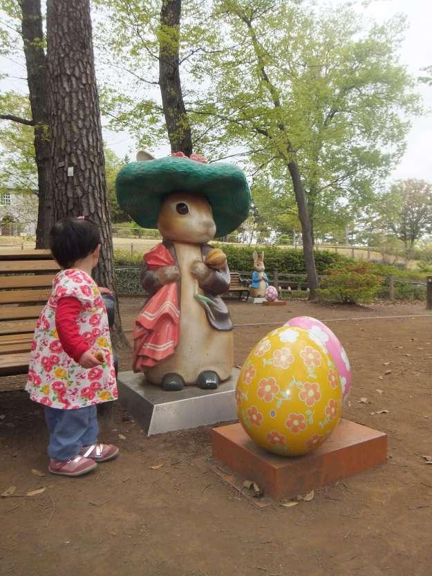 Easter in Saitama at Saitama Childrens zoo (4)