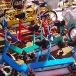 Hanasaki Park Kazo bikes