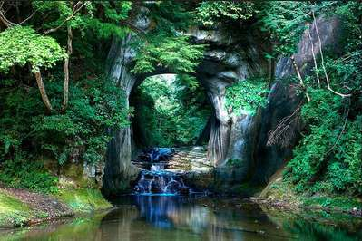 【Places of Interest Kanto】 Ghibli-esque waterfall in Kimitsu | CHIBA