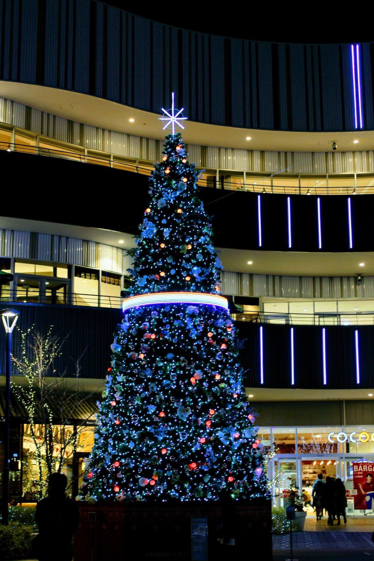 Cocoon City Illumination Christmas Tree