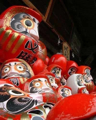 Fuku Daruma / Daruma Market  | KAWAGOE & TAKASAKI 【GUNMA】