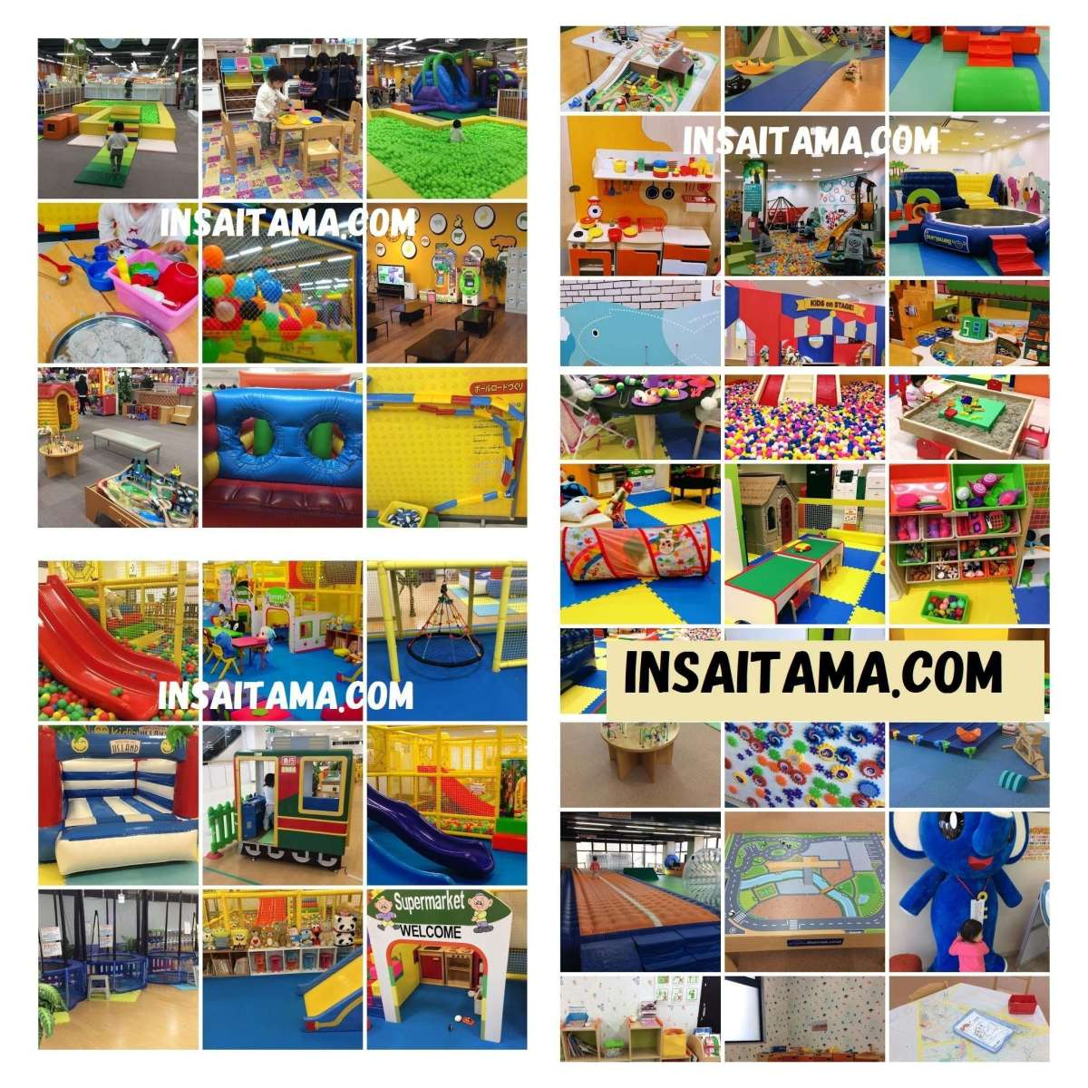 >60 Privately Run Indoor Play / Fun / Amusement Centers in Saitama