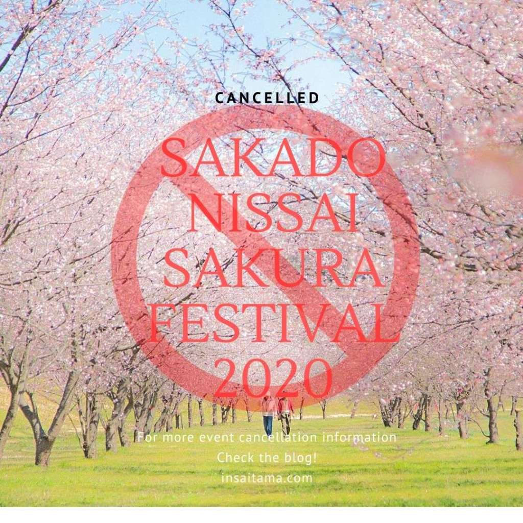 Okanzakura Sakado Nissai Sakura Festival cancelled events coronavirus