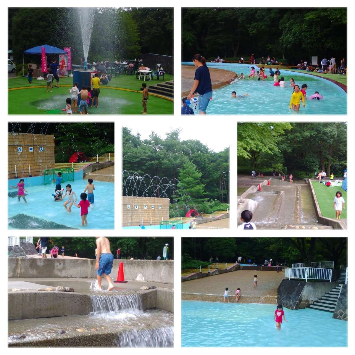 Splash pool and water play open in Shinrin Park | NAMEGAWA