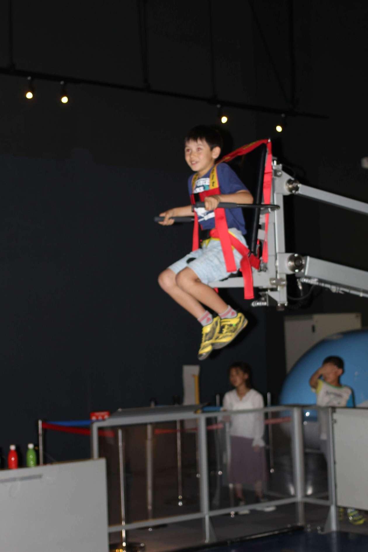 Moon walker at Tokorozawa Aviation Museum in Tokorozawa Aviation Memorial Park