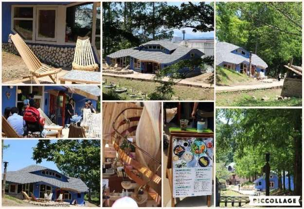 Puisto Cafe in Moomin valley aka Akebono Children's forest the site of the upcoming Metsa Moomin theme park