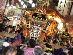 Yakyu Inari Mikoshi at the Higashimatsuyama Summer Festival