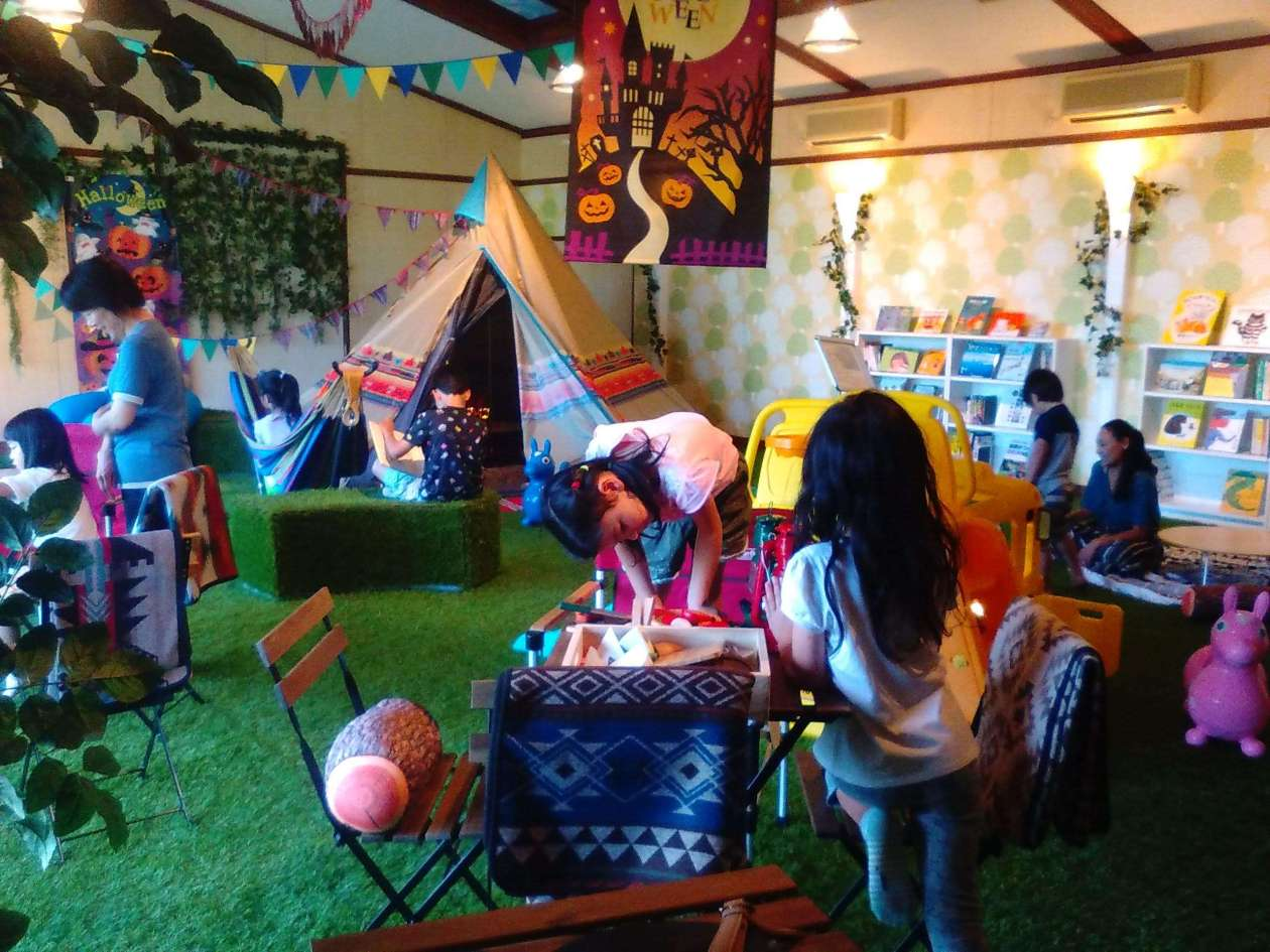 Kids Glamping Play area