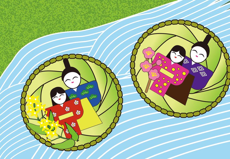 Sandawara floating dolls iwatsuki