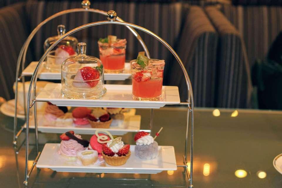 Afternoon tea, Kawagoe Prince Hotel