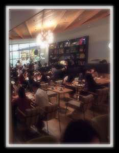 Wired Cafe in Lumine 2| OMIYA