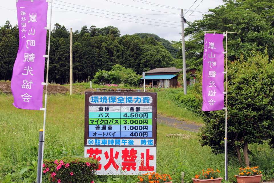 Visiting Ranzan Valley Barbecue site parking costs
