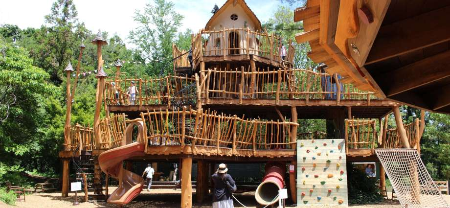 Hemulin's playground Moomin Valley Park Metsa