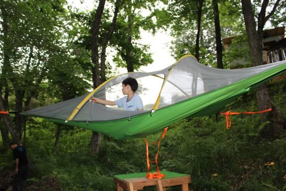 Sky tent at Moose Family Camp Resort