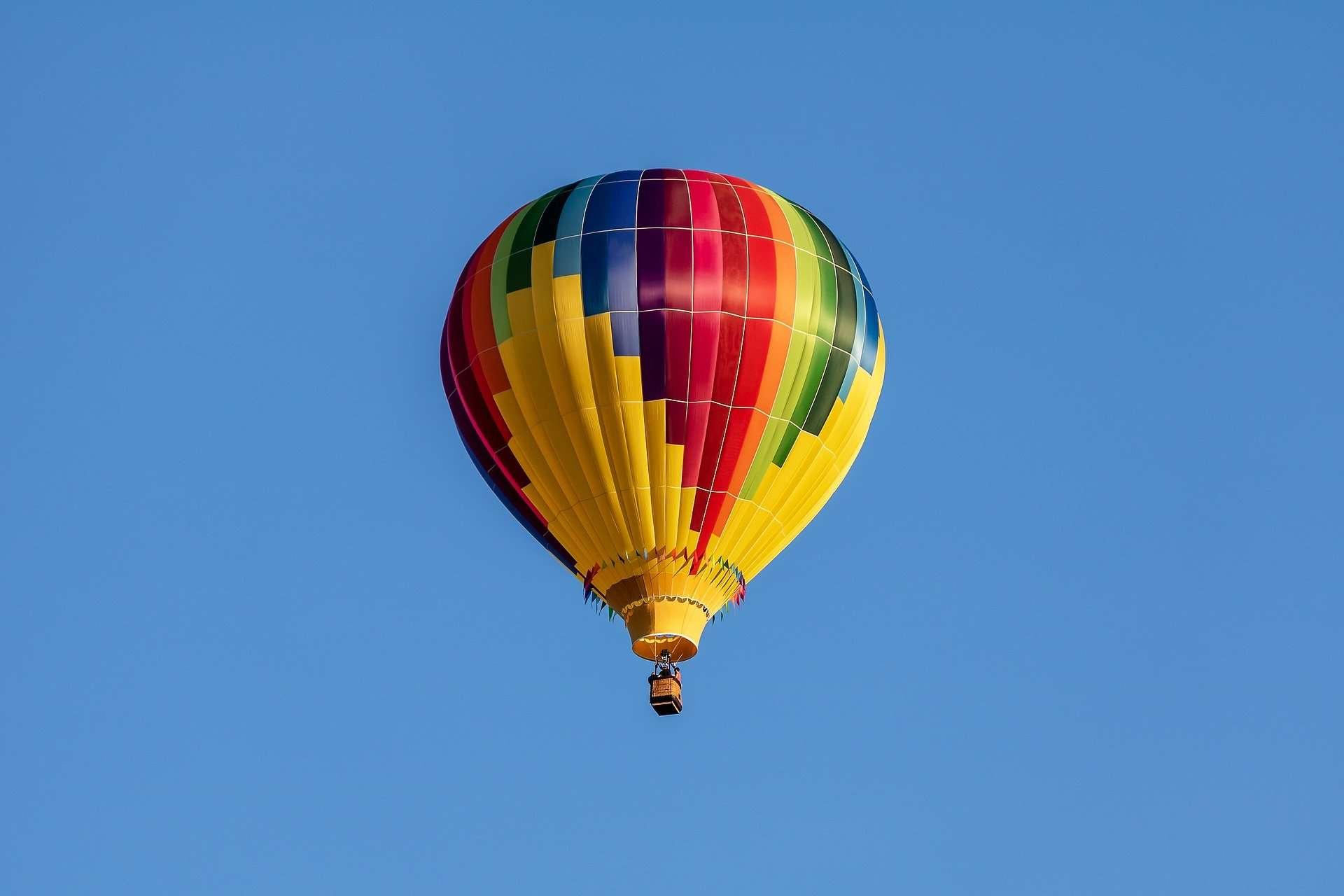 Hot air balloon shinrin park