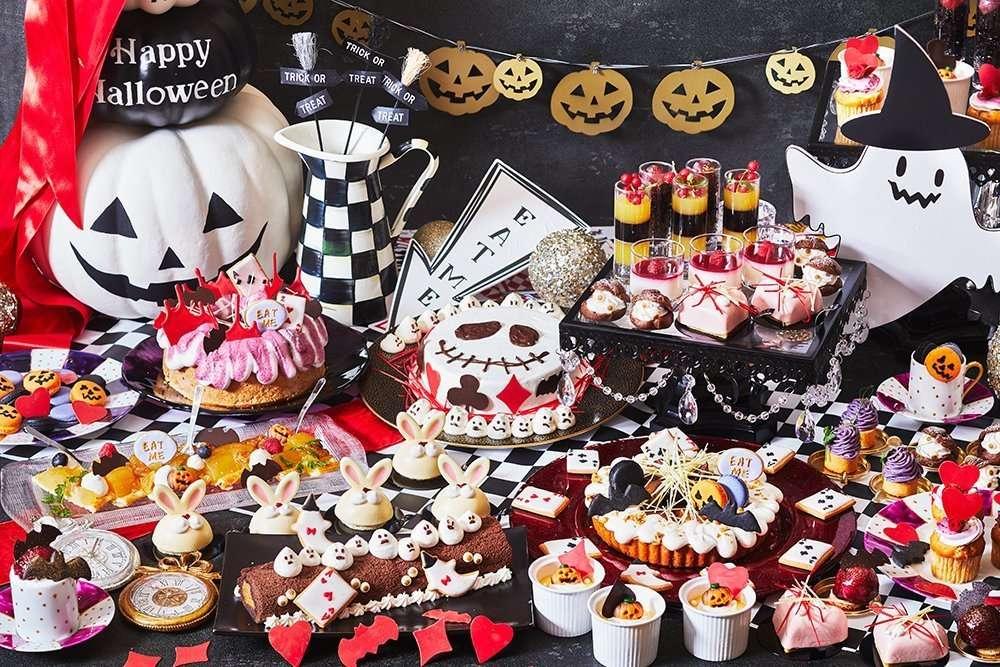 Alice's tea party halloween event shiteiki