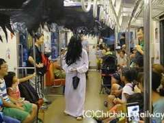 Ghost train chichibu railway
