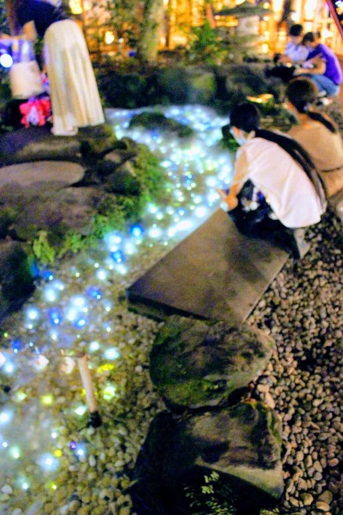 Kawagoe Hikawa Shrine nightscape