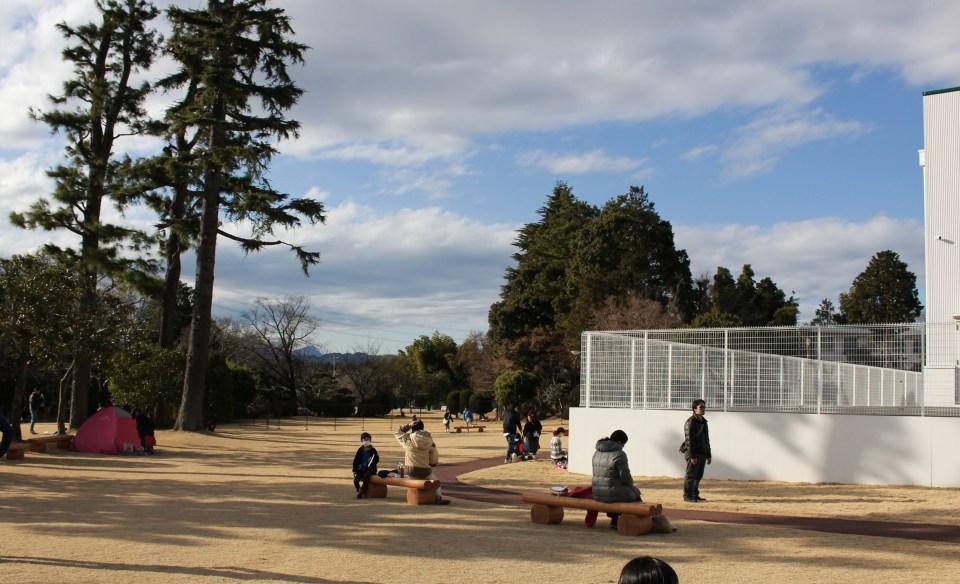 Open space at Saiboku no mori