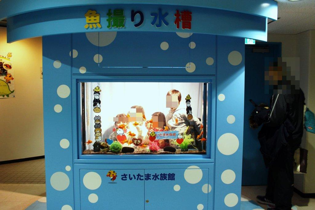 Saitama Aquarium photo prop
