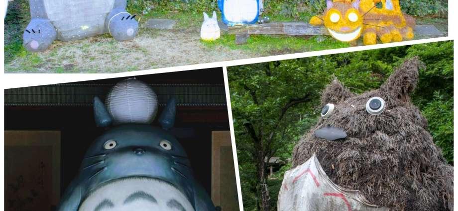 Totoro Instaspots in Saitama Prefecture Japan