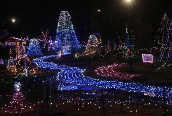 Seien Park Illumination