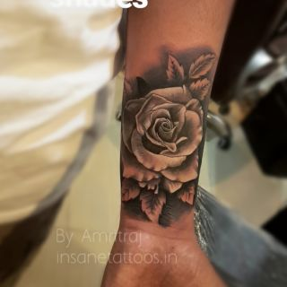 Realistic Rose Tattoo IMG 20171224 230929 431 1 320x320
