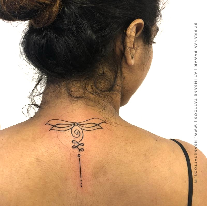 Bird Tattoo/ Unlome Tattoo/ Neck tattoo insane tattoos - best tattoo studio parlour in mumbai mulund juhu india All Work IMG 20180527 WA0017 01