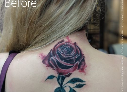 Female Tattoo/Cover up Tattoo/ Leaves Tattoo Cover-up tattoo (Rose tattoo) IMG 20180731 WA0037 01 scalia blog default