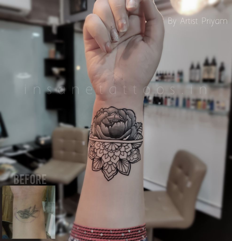 Ornamental/ Detailed Design / Cover up insane tattoos - best tattoo studio parlour in mumbai mulund juhu india All Work IMG 20191215 234105 349 987x1024