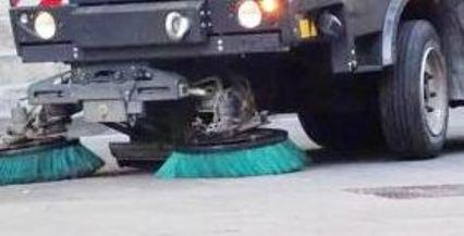 Pulizia lavaggio strade alia
