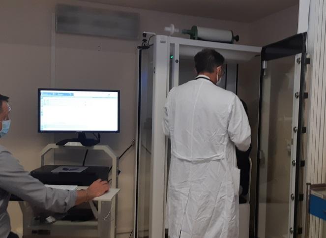 Lo spirometro a San Giovanni di Dio