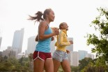 2 Women Jogging