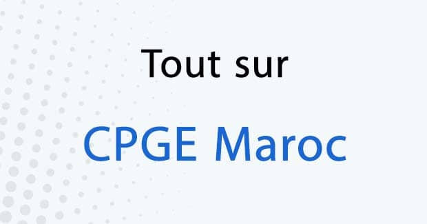 Inscription CPGE 2020-2021