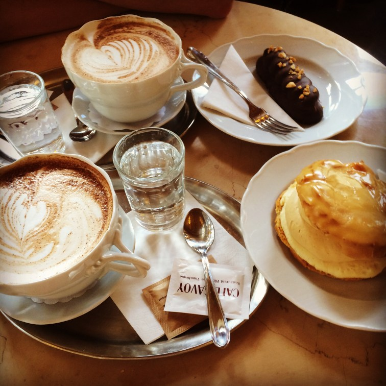 Vetrnik im Café Savoy