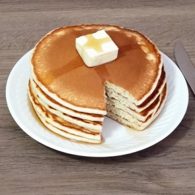 From-scratch pancakes.