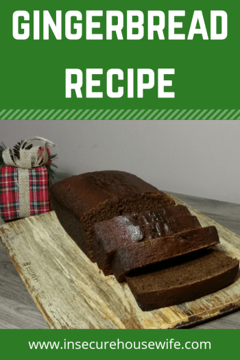 The rich flavors and moist textture of this gingerbread makes it a perfect treat to baking this holiday season.