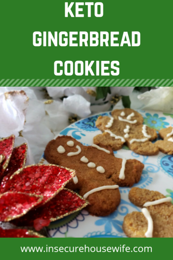 These keto gingerbread cookies are a perfect holiday treat to satisfy your sweet tooth without ruining your diet.