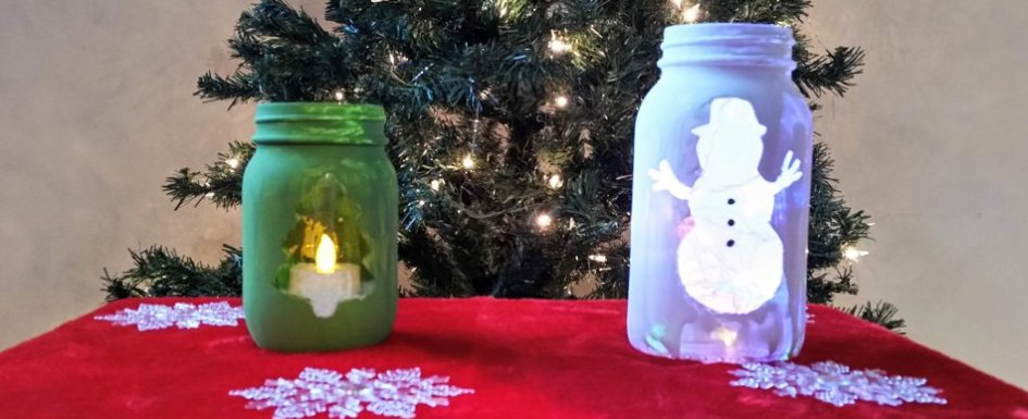 Mason Jar Christmas Decorations Blogmas Day 13 Insecure Housewife