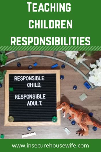 Kids need to be taught responsibilities and life skills. This can be done at any age, however the earlier you start them the better off they will be.